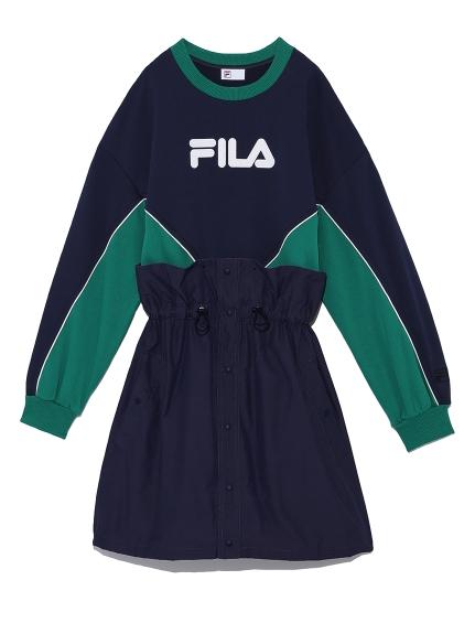 FILAスウェットワンピース(GRN-F)