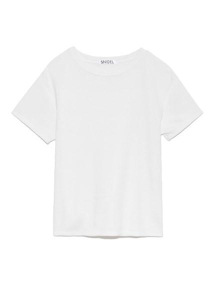 ムジTシャツ(WHT-F)