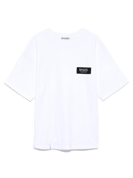 ロゴテープTシャツ
