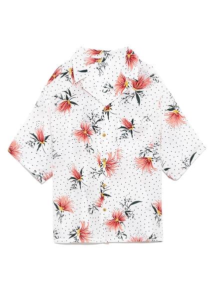 ビッグアロハシャツ(WHT-F)