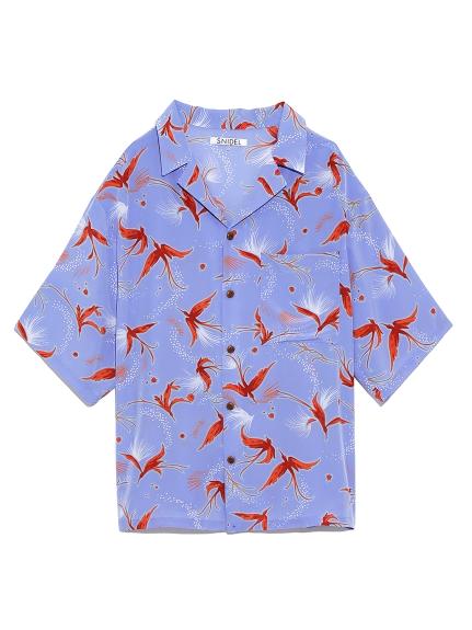 ビッグアロハシャツ(BLU-F)