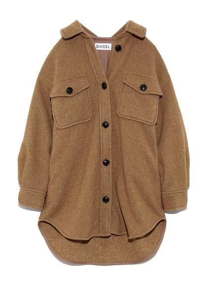 ウールシャツジャケット(CML-0)