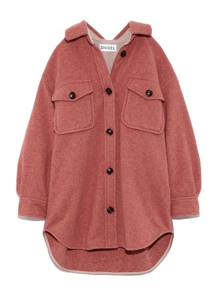 ウールシャツジャケット(PNK-0)