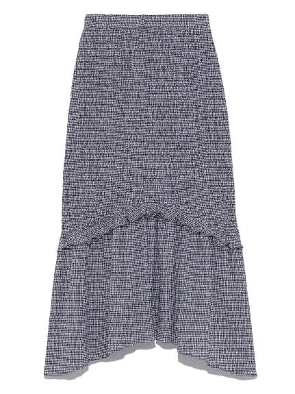シャーリングマーメイドスカート